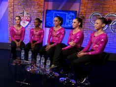 U.S. gymnastics team: It's 'surreal to be here'