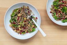 In the last few years, quinoa has rapidly become the hottest thing in the dry-goods aisle. Though ancient cultures like the Incas knew about this superfood long before we were putting it in energy bars, this is probably one of the hottest trends in health food today — and with very good reason. Not only is it a complete protein (meaning it contains all nine essential amino acids), it's also a major source of fiber. Those two elements make it the ideal food for keeping you full, maintaining…