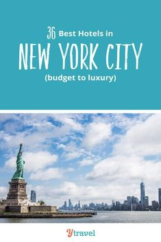 Planning to visit NYC? Looking for the best New York City hotels? Check out this list of the best 3, 4 and 5 star hotels in NYC in the most popular districts of Manhattan. Don't visit New York before reading these NYC travel tips. #NewYorkCity #NYC #NY #NewYork #usatravel #NYCtravel #travel #traveltips #hotels