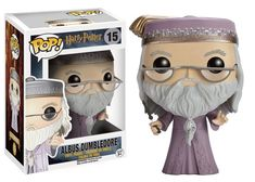 Figurine Harry Potter Funko POP! Dumbledore with Wand 9cm - Figurines Cinéma-TV/Harry Potter - 1001-Figurines