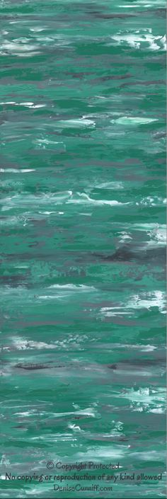 Teal green and grey abstract painting by Denise Cunniff - ArtFromDenise.com. Works really well for shabby chic decor. View this listing at https://www.etsy.com/listing/188104691/teal-green-and-grey-abstract-painting
