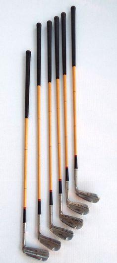 RARE SET MACGREGOR IRONS DICK METZ REG. #854 COATED STEEL SHAFTS ORIGINAL GRIPS #MacGregor Vintage Golf Clubs, Irons, Steel, The Originals, Ebay, Iron