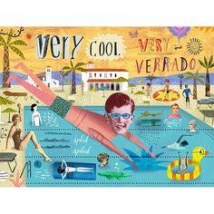 Verrado pool.13 - Martin Haake - Workbook.com Splish Splash, Creative Director, Illustrations Posters, Campaign, Collage, Ads, Movie Posters, Inspiration, Amazing