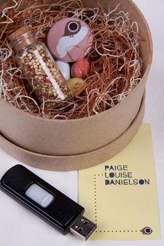 Self Promo by Paige Danielson, via Behance