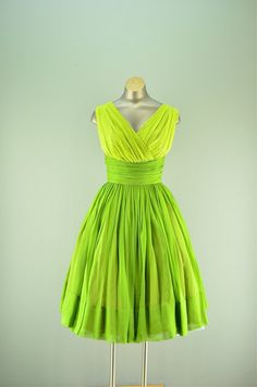 Never have I wanted something more. 1950s I Magnin dress / Vintage party dress / 50s by melsvanity, $278.00