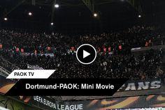 """Το PAOK TV απλώς ανέλαβε τη σκηνοθεσία. Οι πρωταγωνιστές, αλλά και οι εικονολήπτες είστε εσείς. Ο κόσμος του ΠΑΟΚ που κόντρα στη Ντόρτμουντ έδειξε πως καλή η ατμόσφαιρα στο Signal Iduna Park και το """"Κίτρινο Τείχος"""" αλλά δεν συγκρίνονται με τον παλμό που δημιουργείτε. Δείτε το mini movie από το διπλό στη Γερμανία."""