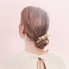 We Deco-d out our beloved Bun Cuff for a haute-right-now hairstyle! https://www.chloeandisabel.com/boutique/cuteclassy #jenatkinhair #fashion #accessories