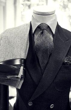 ' — Style I Gentleman's Essentials Dapper Gentleman, Gentleman Style, Gentleman Fashion, Sharp Dressed Man, Well Dressed Men, Mens Attire, Mens Suits, Mode Chic, Grown Man
