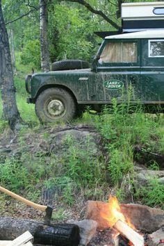 Land Rover Series Camper