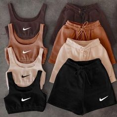 Swaggy Outfits, Cute Lazy Outfits, Baddie Outfits Casual, Trendy Summer Outfits, Stylish Outfits, Girls Fashion Clothes, Teen Fashion Outfits, Retro Outfits, Tomboy Fashion