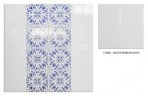 Results page 3 of 3 for Wall Tiles Mediterranean Decor, Clearance Sale, Wall Tiles, Floral Tie, Bathroom, Blue, Inspiration, Home Decor, Room Tiles