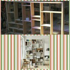 Book shelf...on the making