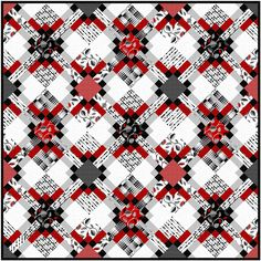 = free pattern = Trellis quilt at Studio E Fabrics