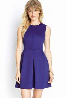 vestidos da moda azul
