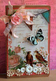 Beautiful card originally pinned from  http://glitzitnow.blogspot.co.uk/2011_06_01_archive.html