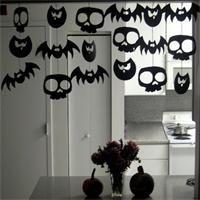 Guirlande Halloween  Déco Halloween à fabriquer                              …