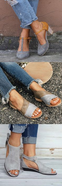 100 Best Spring Summer Shoes for You. Buy More Save More!Shop Now! This would make a great gift for anyone. 100 Best Spring Summer Shoes for You. Buy More Save More!Shop Now! This would make a great gift for anyone. Look Fashion, Fashion Shoes, Womens Fashion, Fashion Trends, Fashion Outfits, Mode Shoes, Mode Outfits, Looks Style, Mode Style