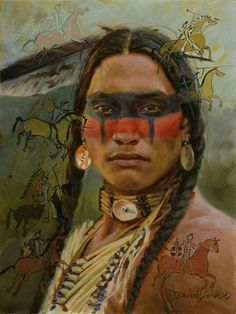 amerindian face painting - Google Search