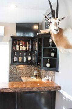 Home Bars - traditional - Home Bar - Houston - Modern Home Renovation Kingwood Remodeling MHR Modern Home Renovation in Kingwood, Texas 77339