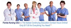Florida Nursing CE Requirements | Florida Nurses CEU / In-Services Hours
