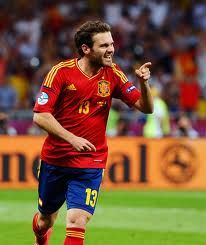 Juan Mata - Spain Midfielder. Scored a goal to put Spain ahead of Italy 4-0 in the EURO 2012 Final, which Spain eventually won by that same scoreline to lift the EURO 2012 and retain their European crown.