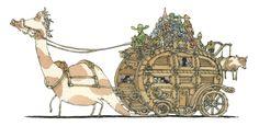 Ilustrações de Mattias Adolfsson