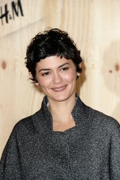 Audrey Tautou in Isabel Marant's (fashion designer) Photo Call for H&M