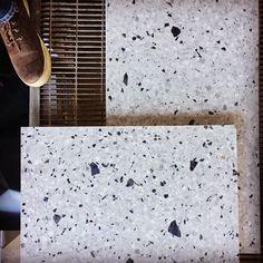 Terrazzo with sodalite. #terrazzo #graniglia #marmo #sodalite #design #bespoke #customized #handmade #fattoamano #artigianato #photooftheday #handicraft #floortiles #styling #style #architecture #architettura #biancocarrara #interiordesign #creative #interiorstyling #designinspiration #blue #eye #interiorideas #madetomeasure #marble #madeinitaly
