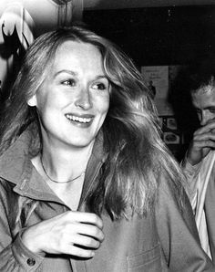 Meryl Streep,  one of my all time favorite actress.