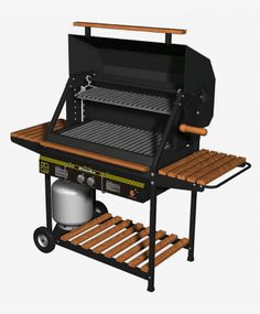 Built In Bbq Grill, Bbq Grill Parts, Diy Grill, Barbecue Design, Grill Design, Bbq Plates, Fire Pit Essentials, How To Clean Bbq, Charcoal Bbq Grill
