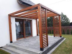 Deck With Pergola, Outdoor Pergola, Pergola Plans, Gazebo, Small Backyard Patio, Backyard Patio Designs, Backyard Landscaping, Back Gardens, Outdoor Gardens