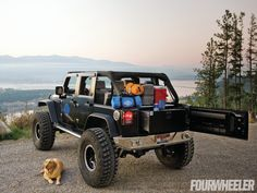 September 2011 Parts Rack Jeep Jk