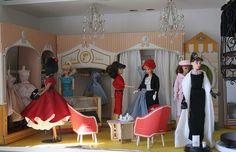 Vintage Barbie Fashion Shop Diorama