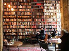 Merci Used Book Café, mon préféré…The Hottest New Cafés in Paris via @mydomaine