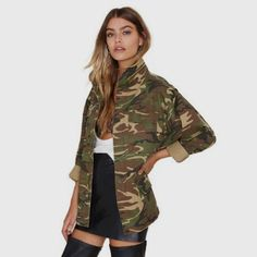 Women Loose Camouflage Coat Price $57.98 AUD Click the link in my bio ---> @soulkreedclothing and grab yours today while stocks last. Sign up to our newsletter and get 15% off all purchases! Item Type: Outerwear & Coats Outerwear Type: Jackets Gender: Women Clothing Length: Regular Brand Name: Haoduoyi Closure Type: Zipper Hooded: No Collar: Stand Sleeve Length: Full Decoration: Zippers Pattern Type: Print Sleeve Style: Regular Style: Fashion Type: Slim Material: ..