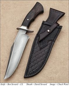 BOWIES and FIGHTERS   Ben Seward Knives