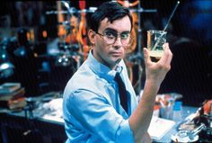 Of course Jeffrey Combs has delivered numerous memorable roles in his long career but I'll always think of him as Herbert West. Retro Horror, Horror Icons, Horror Movie Characters, Slasher Movies, Jeffrey Combs, Re Animator, Science Guy, Scary Movies, Ghost Movies