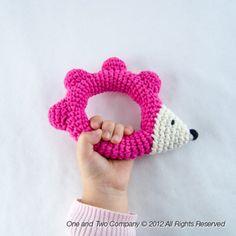 Hedgehog Rattle Crochet Pattern