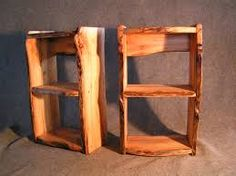 Znalezione obrazy dla zapytania rustic bookshelves