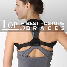 The Natural Posture's Top 5 Most Popular and Best Posture Correctors