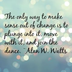 Change is a funny thing. You prepare, you plan, you imagine what's to come and you're even excited. Then the day it actually happens it hits you like a ton of bricks and you feel completely overwhelmed.