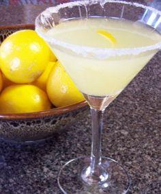 Meyer Lemon Martini  by Doucanoe on September 1, 2011 in Cocktails, Drinks  September 1, 2011 CocktailsDrinks