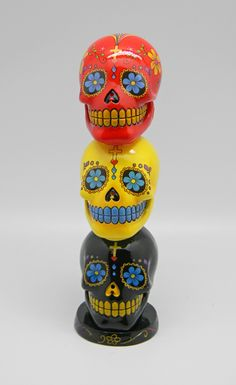 Day of the Dead/Sugar Skull Incense Tower Fantasy Gifts, Bad To The Bone, Renaissance Fair, Day Of The Dead, Decoration, Erotica, Minions, Unique Gifts, Tower