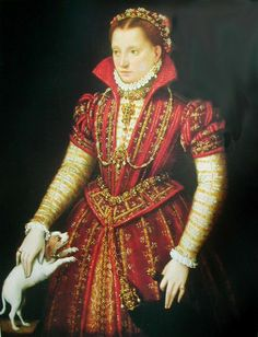 french noble woman 1580