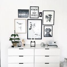Vibes: Ikea 'Nordli' chest of drawers @elingunnerbom