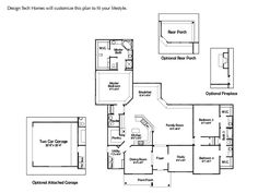 Design Tech Homes - The Brenham floorplan This is the one! Finally ...