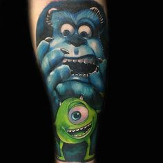 pixar tattoo ideas 12 577bb4e46a351  605 These PIXAR tattoos will bring out your inner child (26 Photos)