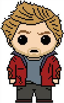"""Guardians of the Galaxy: Peter """"Star-Lord"""" Quill Chart PDF Pattern"""