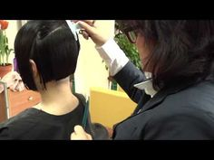 Short Bob Hairstyles - Learn How to Cut the Perfect Precision Bob Haircut - YouTube