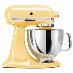 KitchenAid Artisan 5-Quart Stand Mixers by KitchenAid Color: Majestic Yellow Price: $299.00